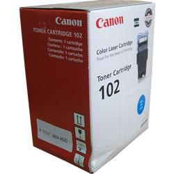箱ダメージ品 CANON カートリッジ102(502) シアン 海外純正